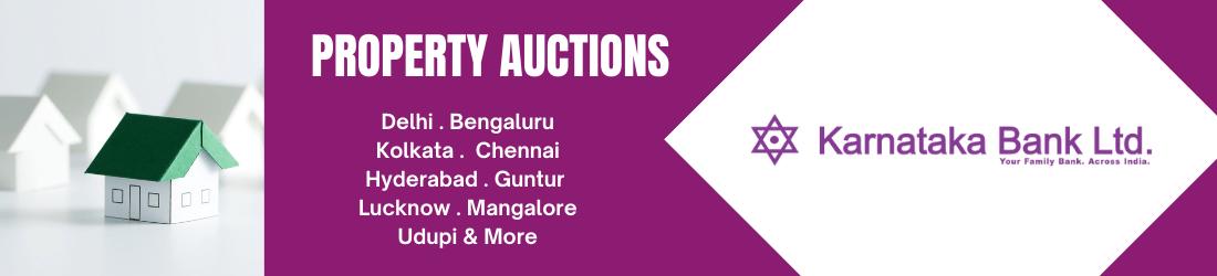 Karnataka Bank Auctions